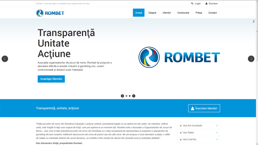 Rombet - Website